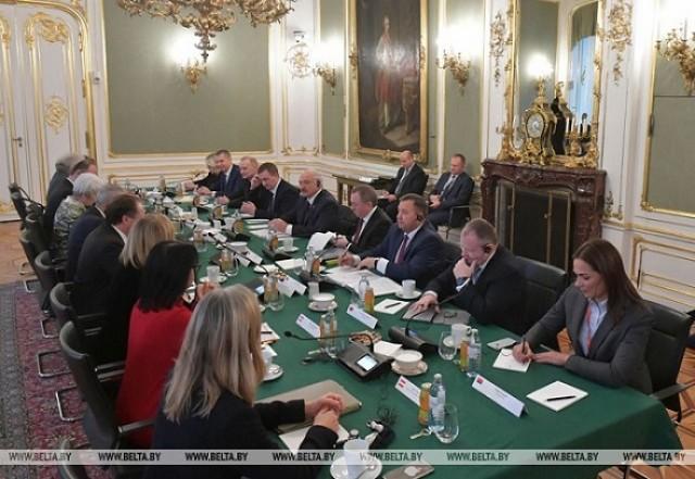 Официальный визит Президента Республики Беларусьв Австрию