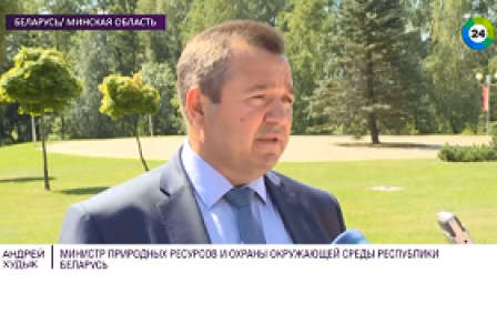 В Беларуси объявили борьбу с борщевиком Сосновского (Телеканал Мир 24)