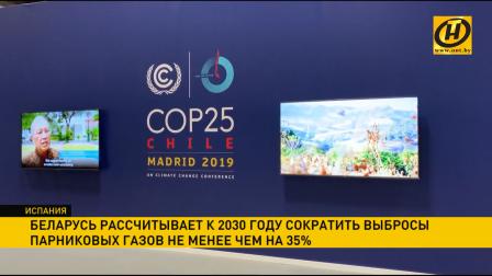 Беларусь планирует сократить выбросы парниковых газов не менее чем на 35% к 2030 году